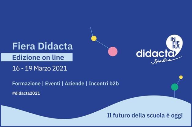 Ecopneus sarà tra gli espositori di Fiera Didacta Italia 2021, l'appuntamento online dedicato al mondo della scuola