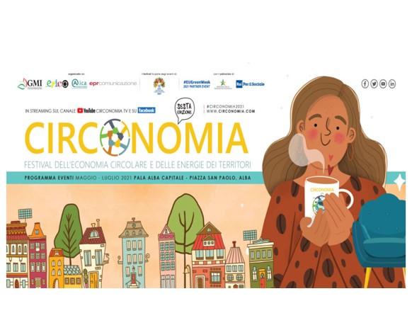 Circonomia 2021, Ecopneus partner della sesta edizione del festival dell'economia circolare