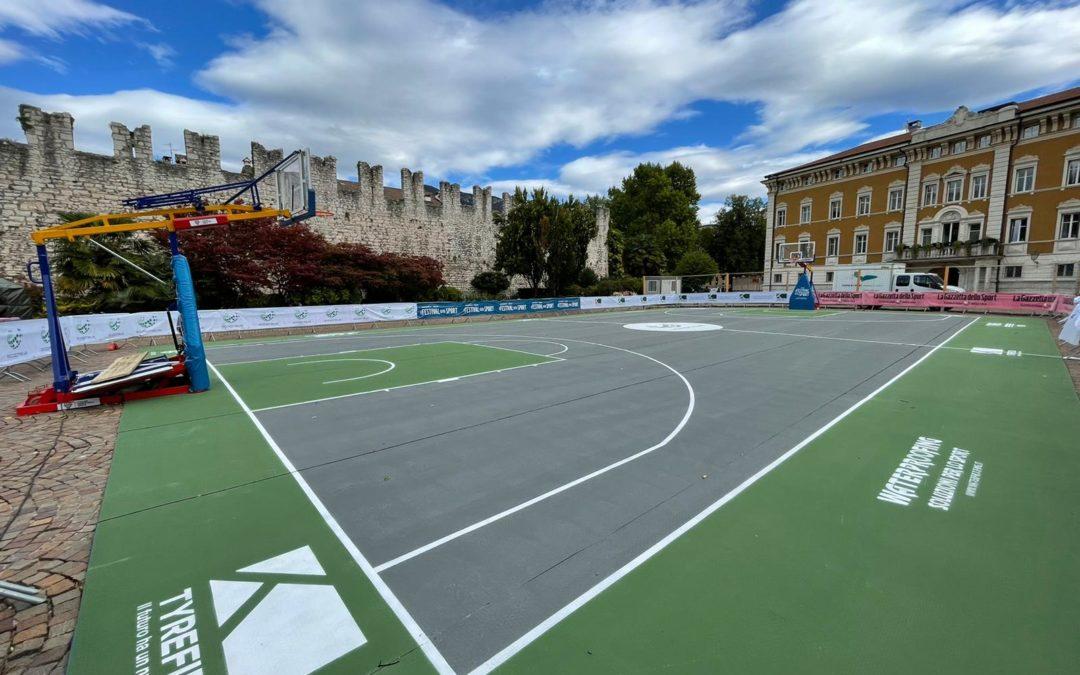 Padel, basket, tennis: lo sport del futuro è su gomma riciclata